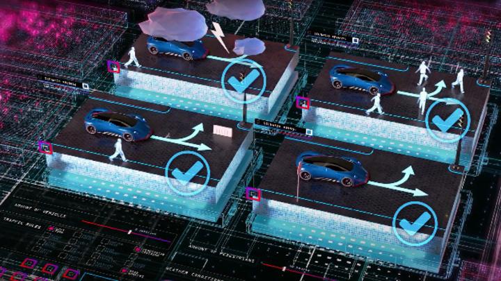 Die gemeinsame Lösung von dSpace und BTC basiert auf der Simulationsumgebung SIMPHERA und der ScenarioPlatform.
