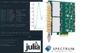 Spectrum Instrumentation erweitert seine gesamte Produktfamilie auf die performante Programmiersprache Julia.