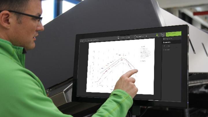 »ProMetrics« erzeugt vom Lötprozess eine Temperatur-Hüllkurve.