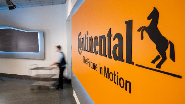 In der Firmenzentrale von Continental in Hannover.
