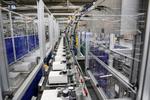 Blick in die Produktion von EMH  Metering.