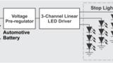 Bild 2. Lösung mit vorgeschaltetem Spannungsregler.