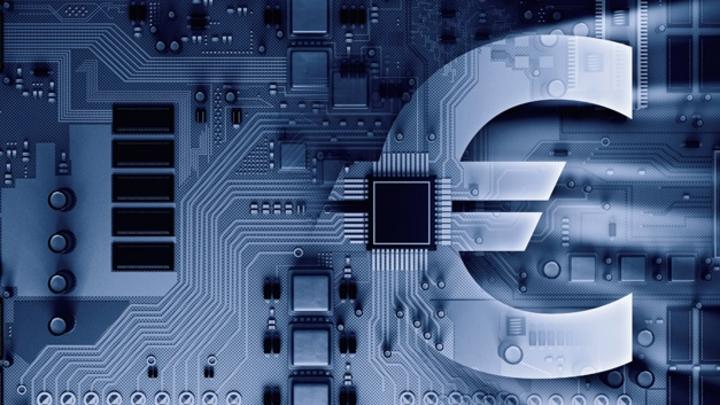 Schmuckbild digitaler Euro