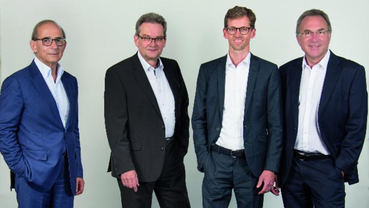 Das neue Management-Team von Isra Vision