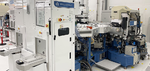 PVD-Anlage (Physical Vapour Deposition) zur Materialabscheidung für Qubits im 300-mm-Reinraum des Fraunhofer IPMS (Center Nanoelectronic Technologies CNT) in Dresden.