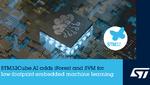 Effizientes Machine Learning mit der STM32Cube.AI-Umgebung