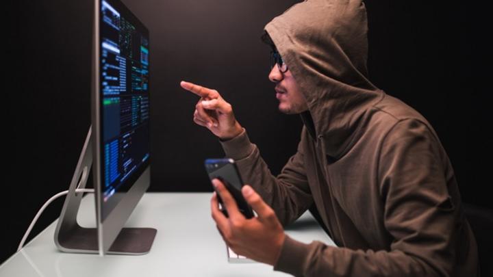 Schmuckbild Cybercrime Smartphone