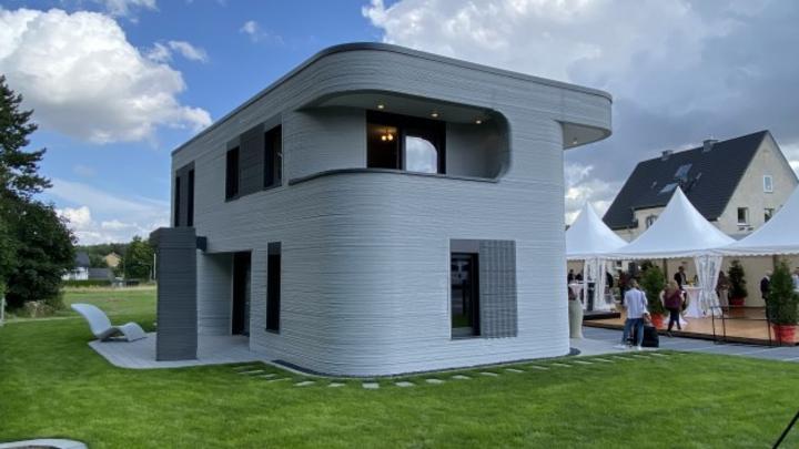 Gedrucktes Haus, 3D-Betondruck