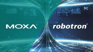 Moxa und Robotron kooperieren.