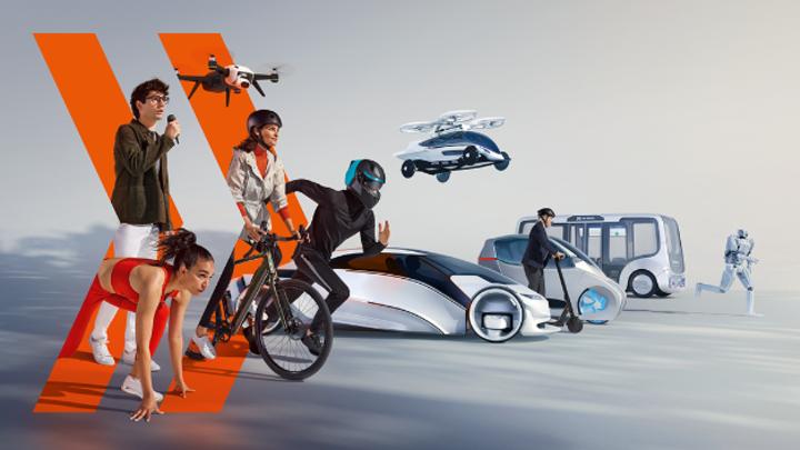 Keyvisual der IAA Mobility