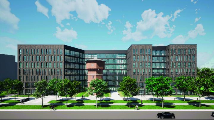 So soll der neue Firmensitz von Isra Vision in Darmstadt aussehen.