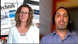 Thomas Rottach, Siglent, im Video-Interview mit Markt&Technik-Redakteurin Nicole Wörner