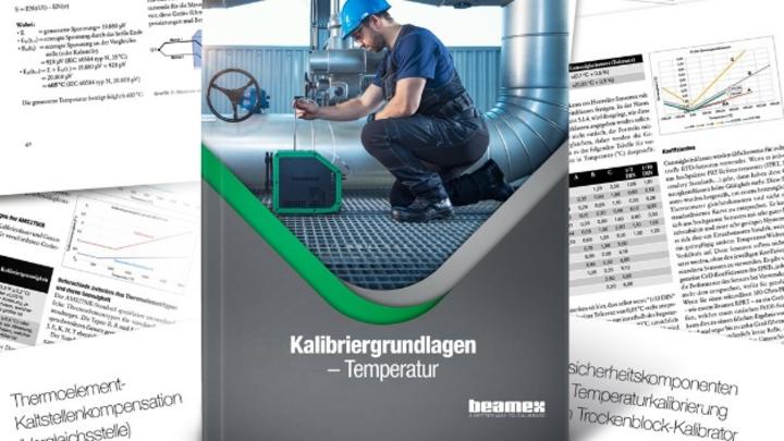"""Zum kostenlosen Download bietet Beamex das eBook """"Kalibriergrundlagen - Temperatur"""" an"""