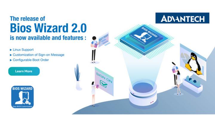BIOS-Konfigurationstool für Advantech-BIOS-Images.