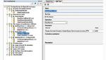 Das Tool ContinoProva zeigt die Testspezifikation für die Übergabe an NI VersiStand in einer Baumstruktur (links) dar. Die Parameter der Testtasks können im rechten Teil bearbeitet werden
