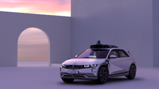 Das Ioniq-5-Robotaxi wird auf der IAA Mobility gezeigt.