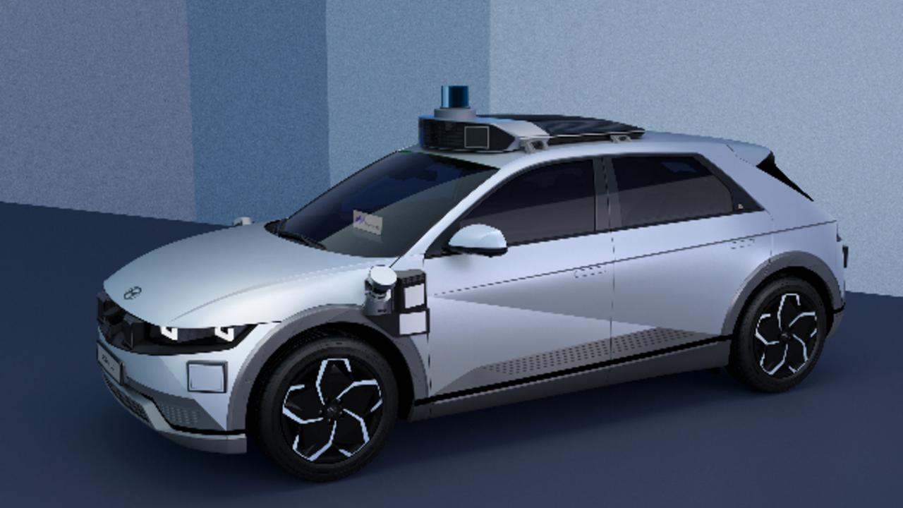 Hyundai und Motional zeigen auf der IAA Mobility erstmals das Ioniq-5-Robotaxi.