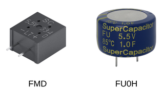 KEMET, Supercapacitor, Double-Layer Capacitor