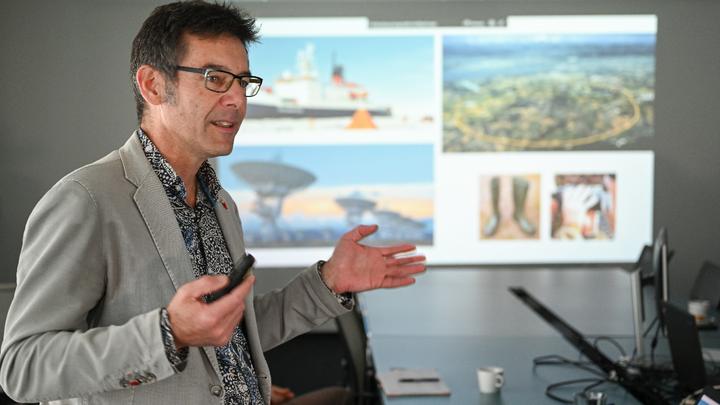 Martin Wikelski, Projektleiter von »Icarus«