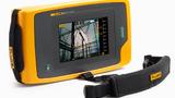 Fluke ii910 Schallkamera: 7-Zoll-LCD, fünf Minuten Video-Aufnahme, Überlagerung von Echtbild und Schall-Landkarte mit Frequenzen von 2 kHz bis 100 kHz mit maximal 120 m Reichweite.