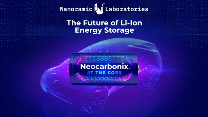 Mit der Neocarbonix-Technologie von Nanoramic können Lithium-Ionen-Batterien in weniger als 15 Minuten auf 80 Prozent ihrer Kapazität aufgeladen werden.