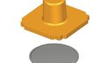 Zerlegter Schalter – Beispiel des Schalteraufbaus