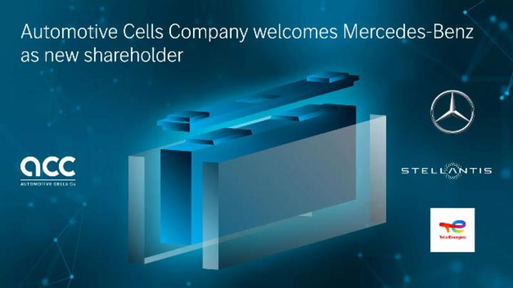 ACC hheißt Mercedes-Benz als neuen Shareholder willkommen.