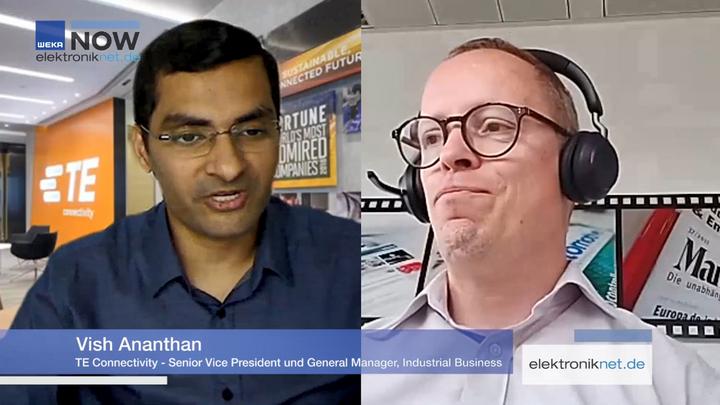 Vish Ananthan, TE Connectivity, ERNI, Acquisition