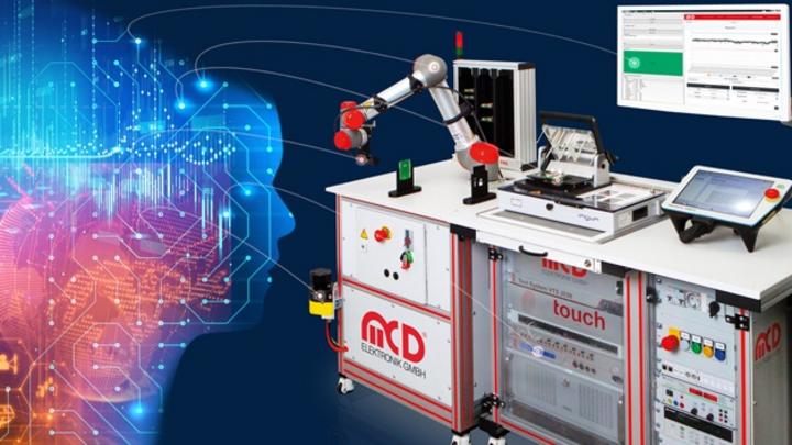Durch KI-Anwendungen werden Messdaten aus MCD Testsystemen zukünftig noch detaillierter analysiert und zur Test-Optimierung genutzt.