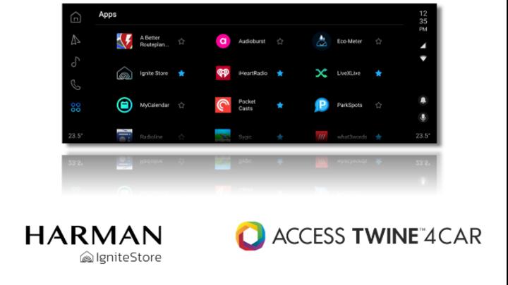 Curch den Harman Ignite Store soll das Fahrzeug Teil des digitalen Lebensstils der Kunden werden.