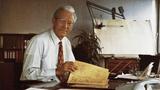 Firmengründer Erwin Sick beim 25-jährigen Jubiläum 1971: Erfinder – und eben doch auch sehr erfolgreicher Unternehmer.