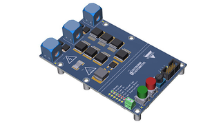 Referenzdesign für einen HV-Trennschalter mit maximaler Abschaltleistung von 40 kW.