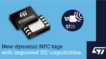 Higher Performance for ST25DV Dual-Interface NFC Tags