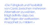 Die Fähigkeit und Flexibilität von Carel, zwischen mehreren Alternativen zu wählen, trägt definitiv dazu bei, die Folgen der weltweiten Knappheit zu mildern.