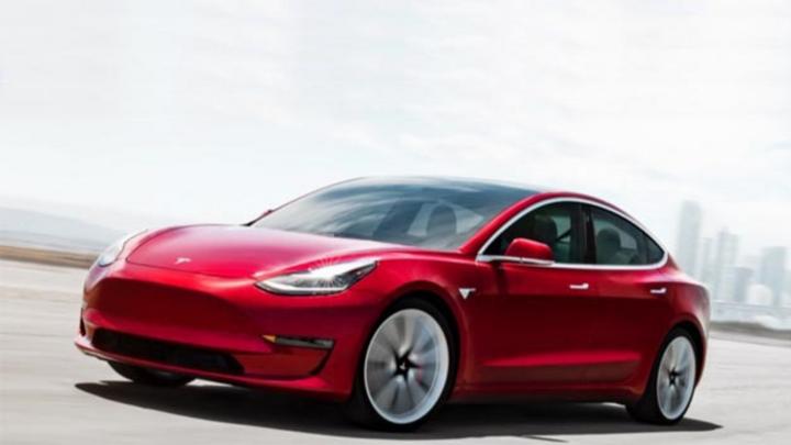 Das »Model 3« von Tesla.