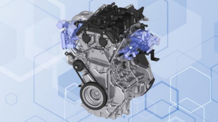 Eigenentwicklung eines Wasserstoffmotores von GAC Motor.