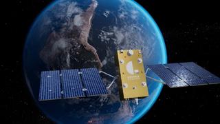 Ein Satellit von Geely, den Geespace entwickelt hat und der unter anderem Autos mit präzisen Positionsdaten versorgt.