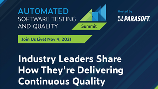 Automated Software Testing & Quality Summit von Parasoft