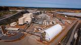 Das 2019 eröffnete Werk für die Lithium-Produktion von Talison Lithium in Greenbushes/Australien.