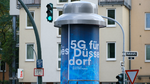 Deutschlands erste 5G-Litfaßsäule