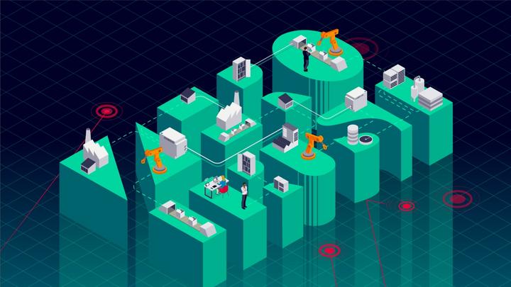 Digitalisierung Industrie 4.0 IIoT Siemens Digitale Produktion OT / IT