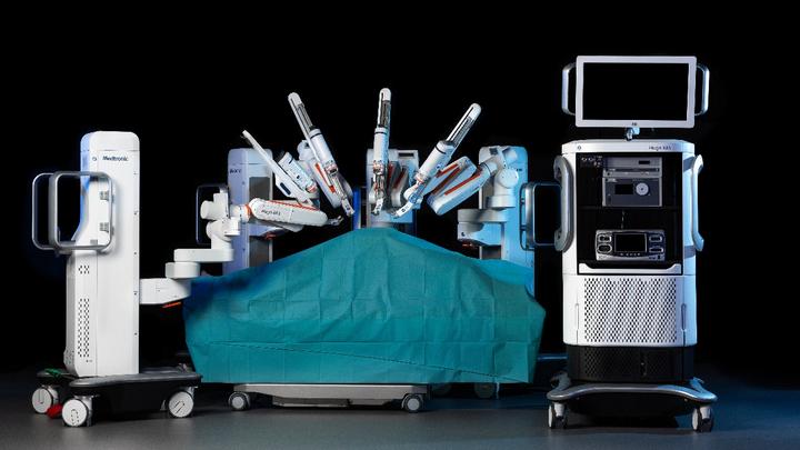 OP-Roboter mit DLR-Technologie auf dem Markt