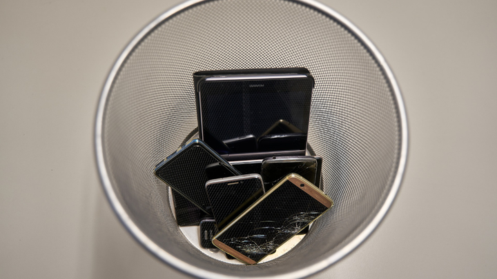 Elektroschrott E-Waste Recycling