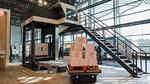 Mobile Industrial Robots und CSi palletising kooperieren