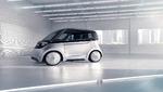 Futuristisches Fahrzeugkonzept für die Stadt