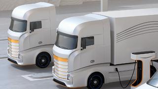 Lkw mit Elektroantrieb könnten bald auch für den Fernverkehr attraktiver werden.