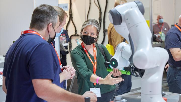 Auf der All About Automation im September 2021 in Chemnitz