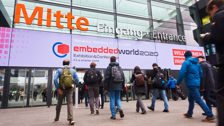 embedded world 2022 to take place as a live event