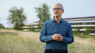 CEO Tim Cook im Apple-Park