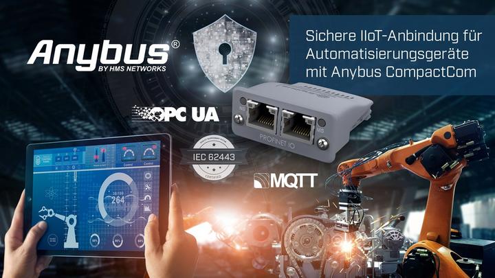 Sichere IIoT-Anbindung für Automatisierungsgeräte
